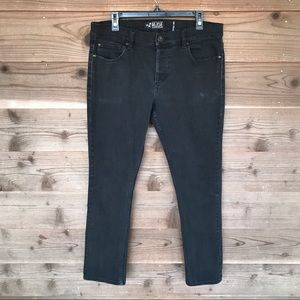 ⬇️$18 RUDE Denim Button Fly Slim Straight Jeans